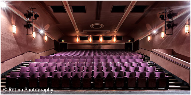 Inside Romsey Plaza theatre View of Seating