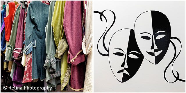 theatre Clothing and Laughing Smiling Symbol