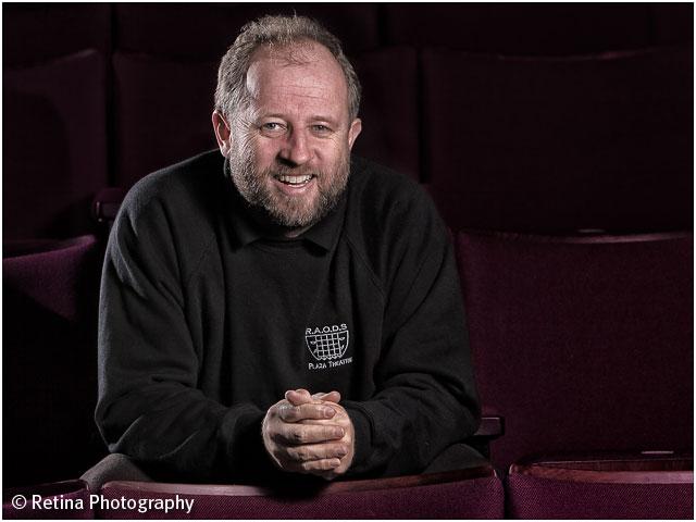 theatre Stage Hand Portrait