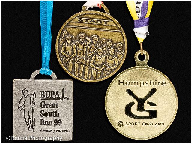 Great South Run Medal 1999 - Sport England Hampshire Youth Games Sport England 2000 - Havant Athletics Club 1999