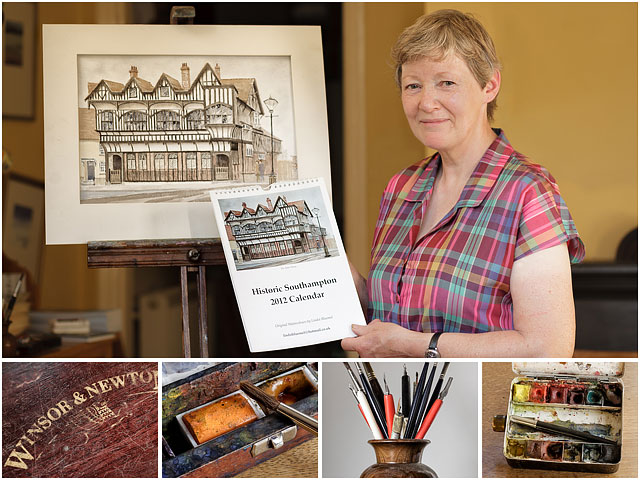 Weekend Passions Montage of Southapton Based Historian and Artist