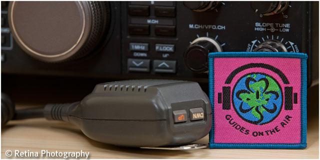 Ham Radio Guides On The Air Badge