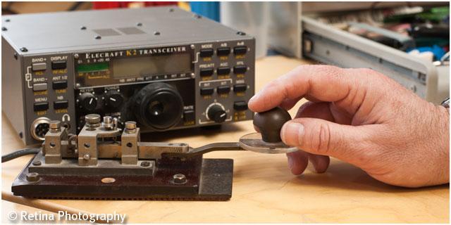 Ham Radio Morse Telegraphy Sending