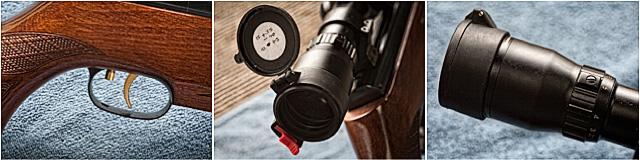 Hunter Field Target Air Rifle Close Up
