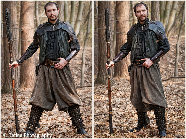 Live Action Role Play Larp Male Priest