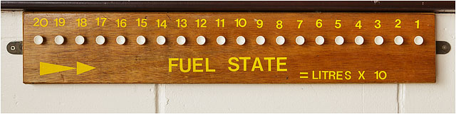 Fuel Status Board For RNLI Rescue Boats