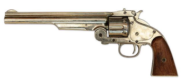 Smith And Wesson No 3 Revolver AKA The American Model