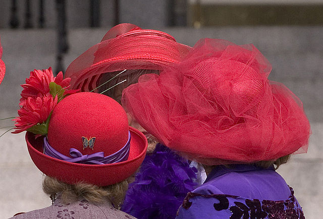 Hats Ladies Red Hat Society