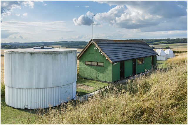 Hampshire Astronomical Group 24 Inch Dome Clubhouse Twenty Four Sixteen 16 Twelve 12 White Landscape Summer Green