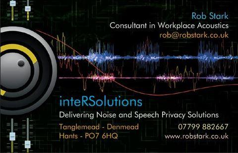 Robs business card