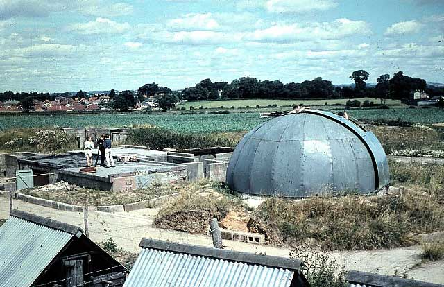 Portsmouth Astronomical Society Dome AA Gun Site Waterlooville August 1962