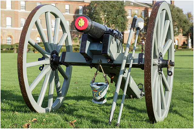Fort Cumberland Guard Three Pounder Cannon