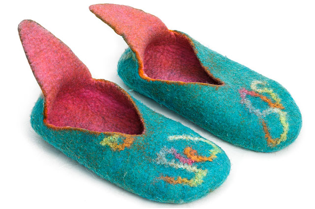Slippers Felt Footwear