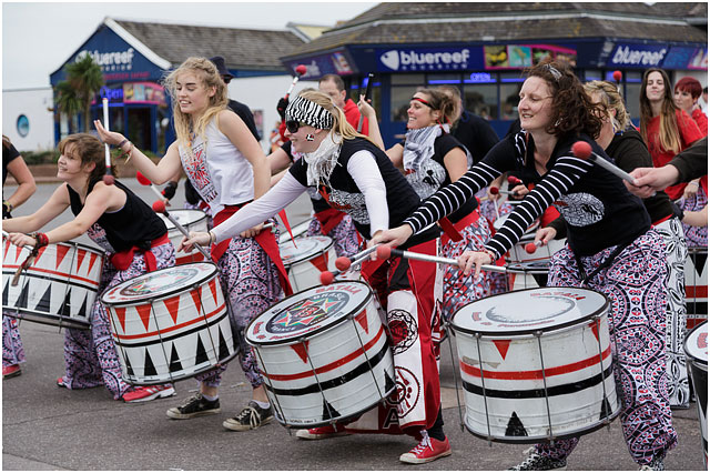 2014 Great South Run Weekend Batala Portsmouth