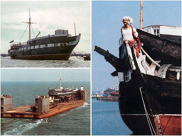 HMS Foudroyant AKA HMS Trincomalee. Berthed in Portsmouth Hartelepool Restoration Ships Figurehead.