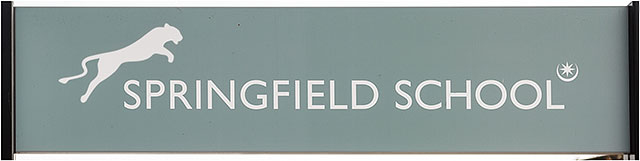 Springfield School Sign Portsmouth