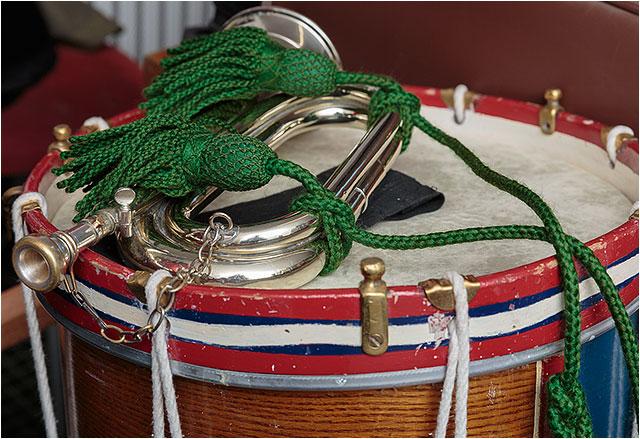 Dockyard;Portsmouth;Snare;bugle;drum