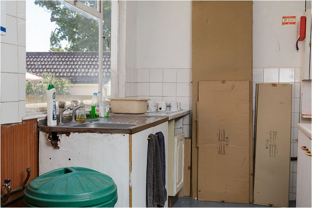 Current cooking facilities at the Havant Men's Shed