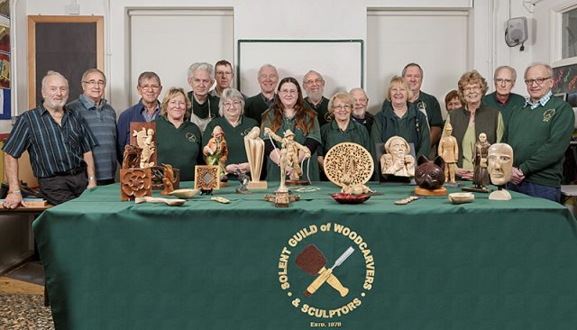 Group portrait of some of the members of the SGWC&S