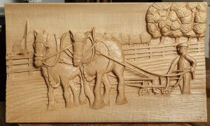 Woodcarvers Show Off Their Skills Part One