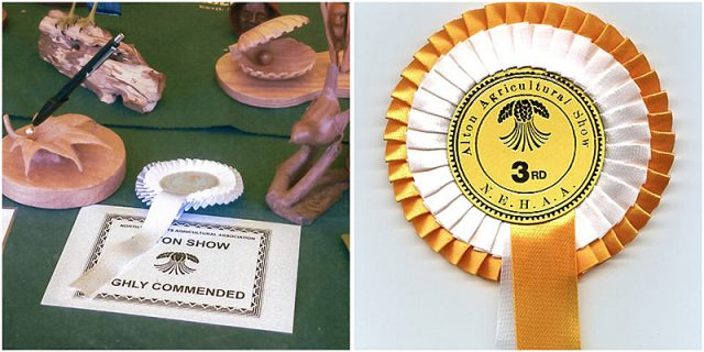awards for woodcarving