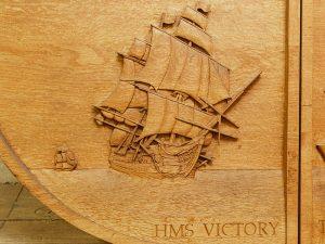 Battle Of Trafalgar Bicentenary Carving
