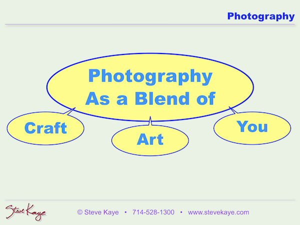 Slide from Photo Class by Steve Kaye, (c) Steve Kaye, in Extraordinary Photo Class