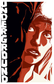 Underground #5, cover by Jeff Parker and Steve Lieber