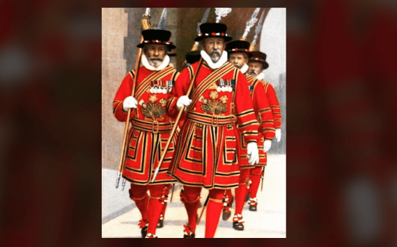 "The ""Beefeaters"""