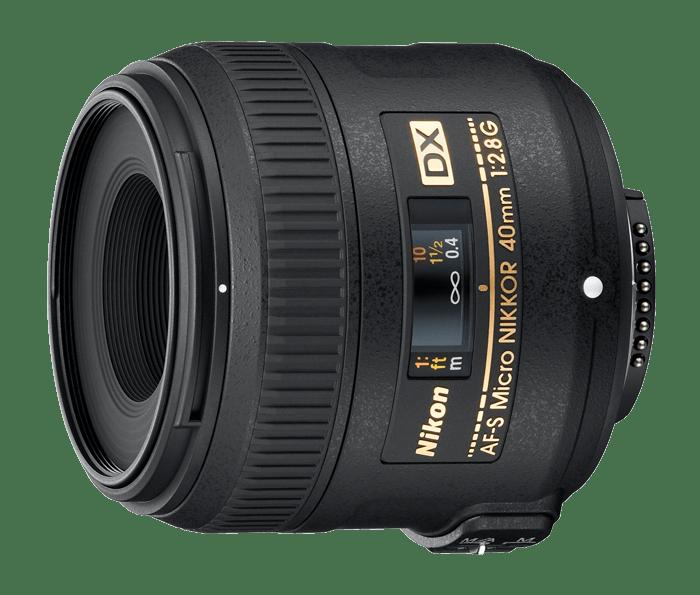 objectif macro nikon 40mm