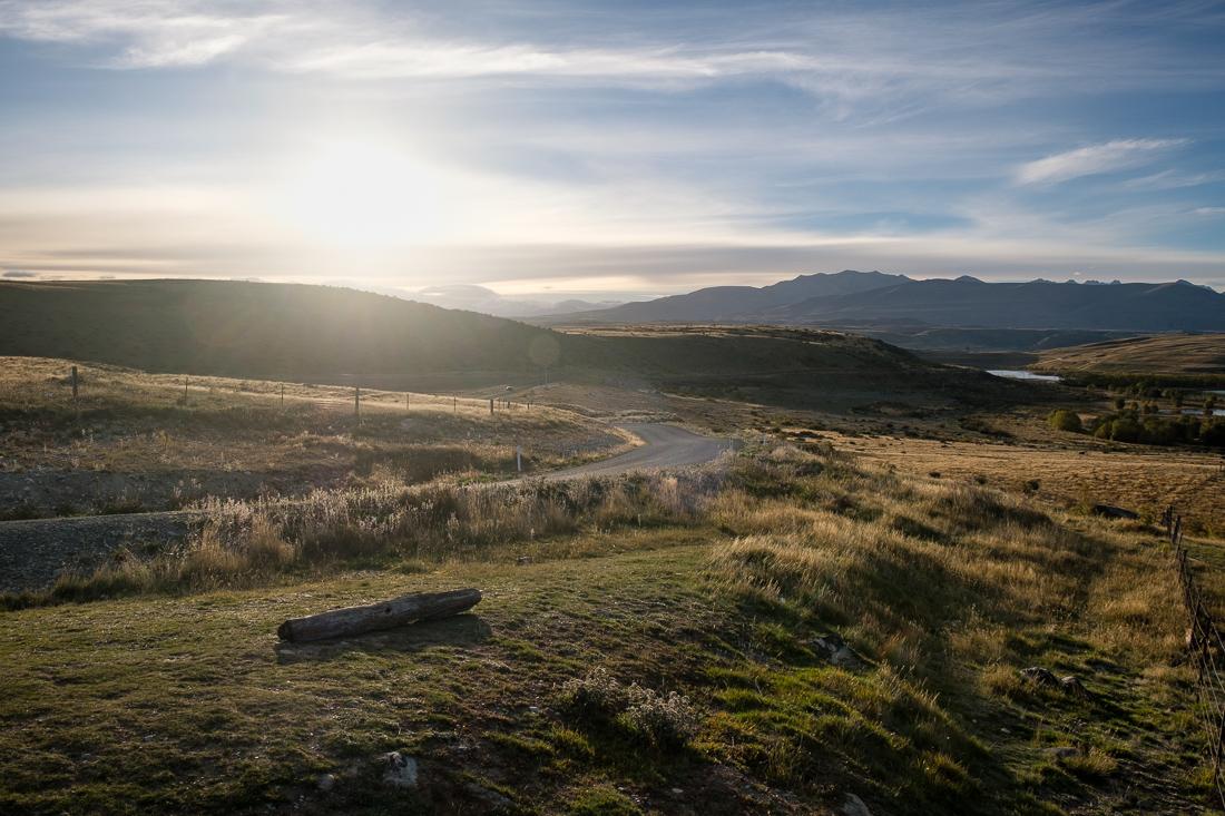 nouvelle-zélande paysage soleil