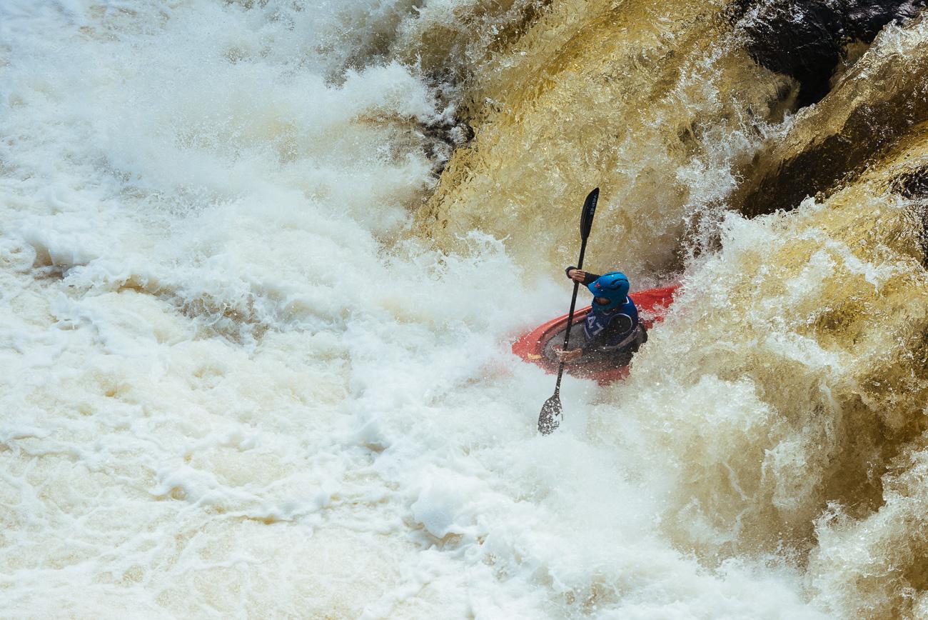 Kayak sur les rivières du Québec