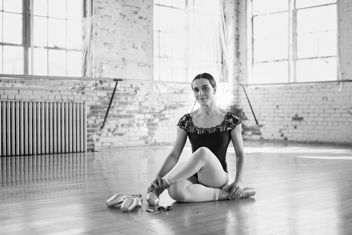 pointes de ballet rosalie carron montreal canada danse