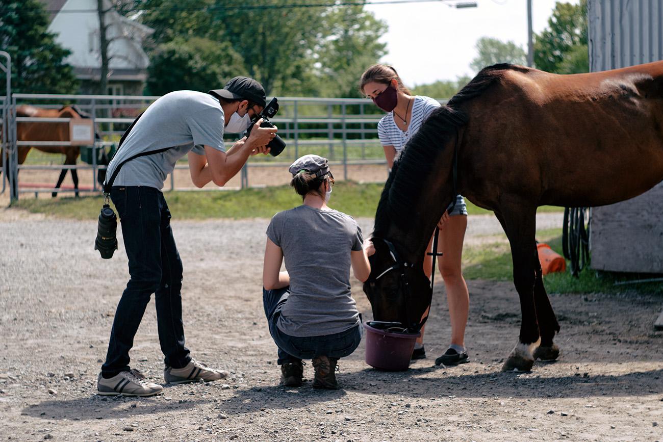 steven berruyer photoshoot cheval prestigio equestrian chambly