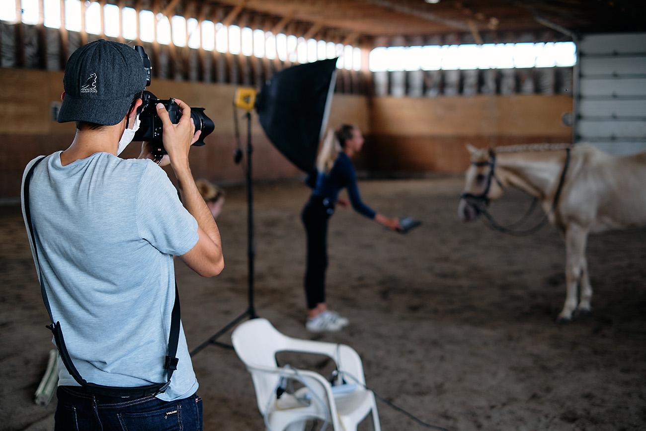 steven berruyer photoshoot cheval chambly