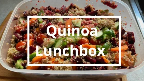 Quinoa Lunchbox   Steve Bonthrone Fitness   Personal Trainer in Perth