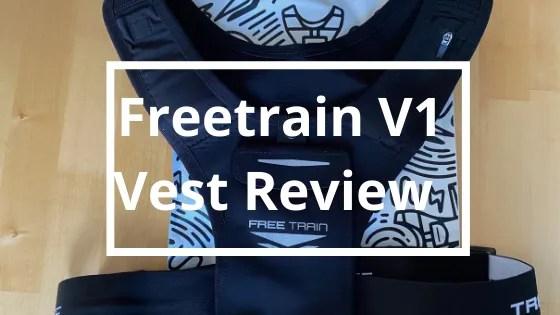 Freetrain V1 Vest Review   Steve Bonthrone Personal Coach Blog