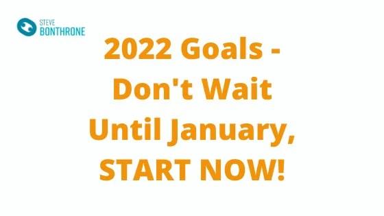 2022 Goals - Steve Bonthrone Personal Trainer in Perth