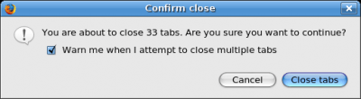 ZOMG that's a lot of tabs!