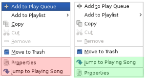 Before (red) and After (green) applying the patch and using an updated plugin