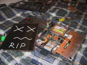 Laptop in Pieces