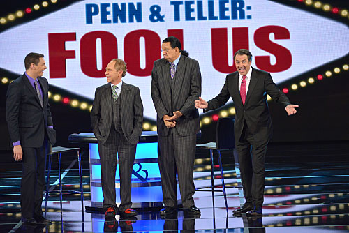 Magician Steven Brundage appears on Penn and Teller: Fool Us