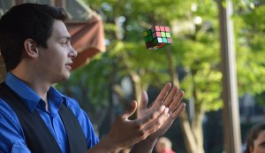 Rubik's Cube Magician Steven Brundage