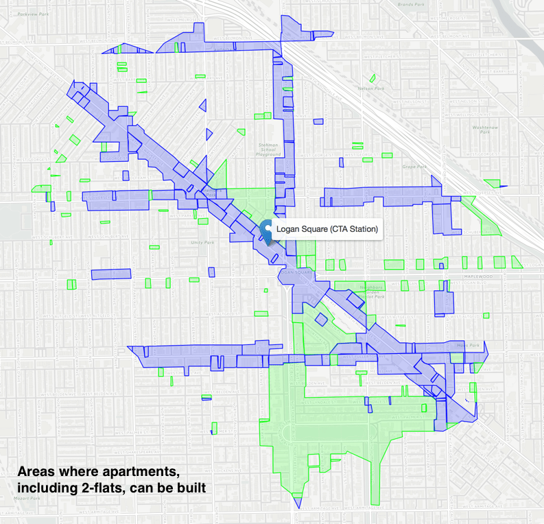 Zoning Map Chicago on