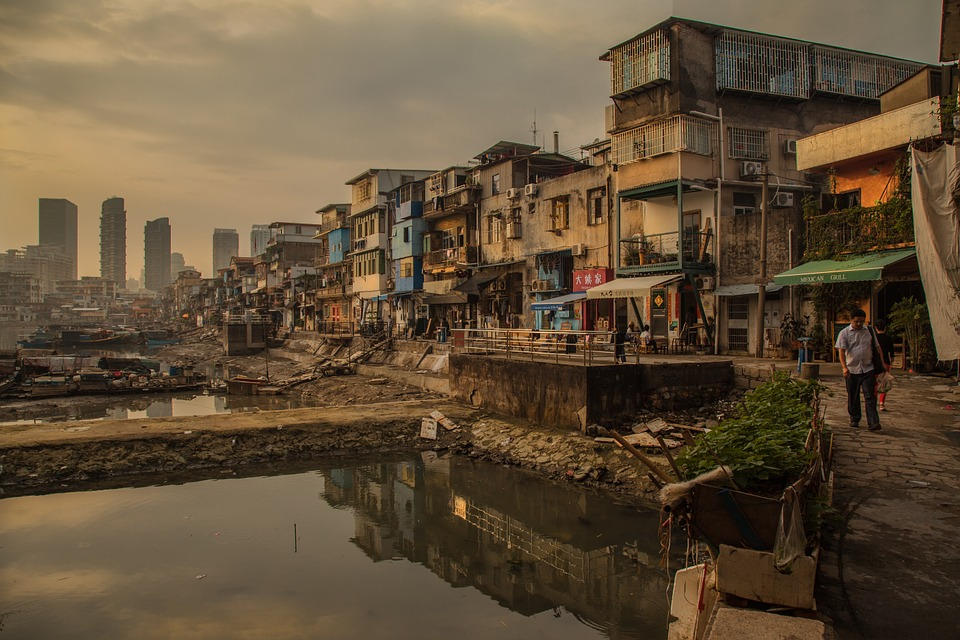 Why does the developing world remain stagnant?