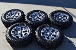 factory wheels tires jeep wrangler rubicon wheels