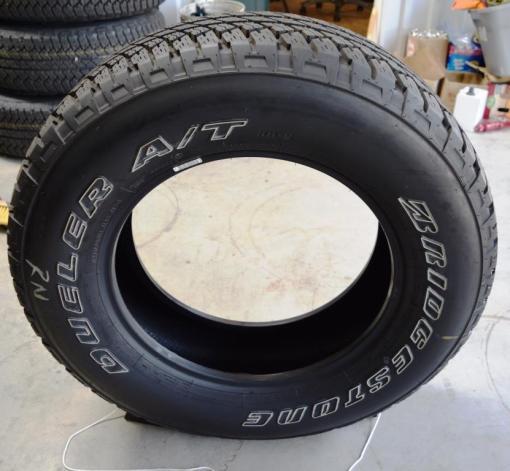 bridgestone dueler at tires P255 70R18 jeep tires for sale
