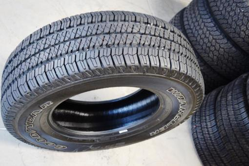 Goodyear Wrangler 17 inch P 255 75R17 tires for sale