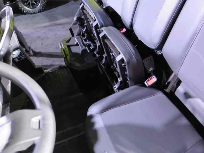 passenger seat lift up