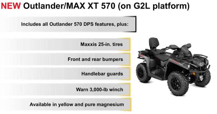 outlander 570 l xt